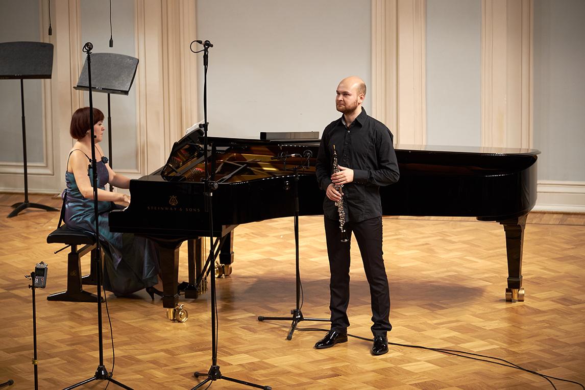Эмиль Мирославский и Александра Полякова. Фото - Евгений Корнев