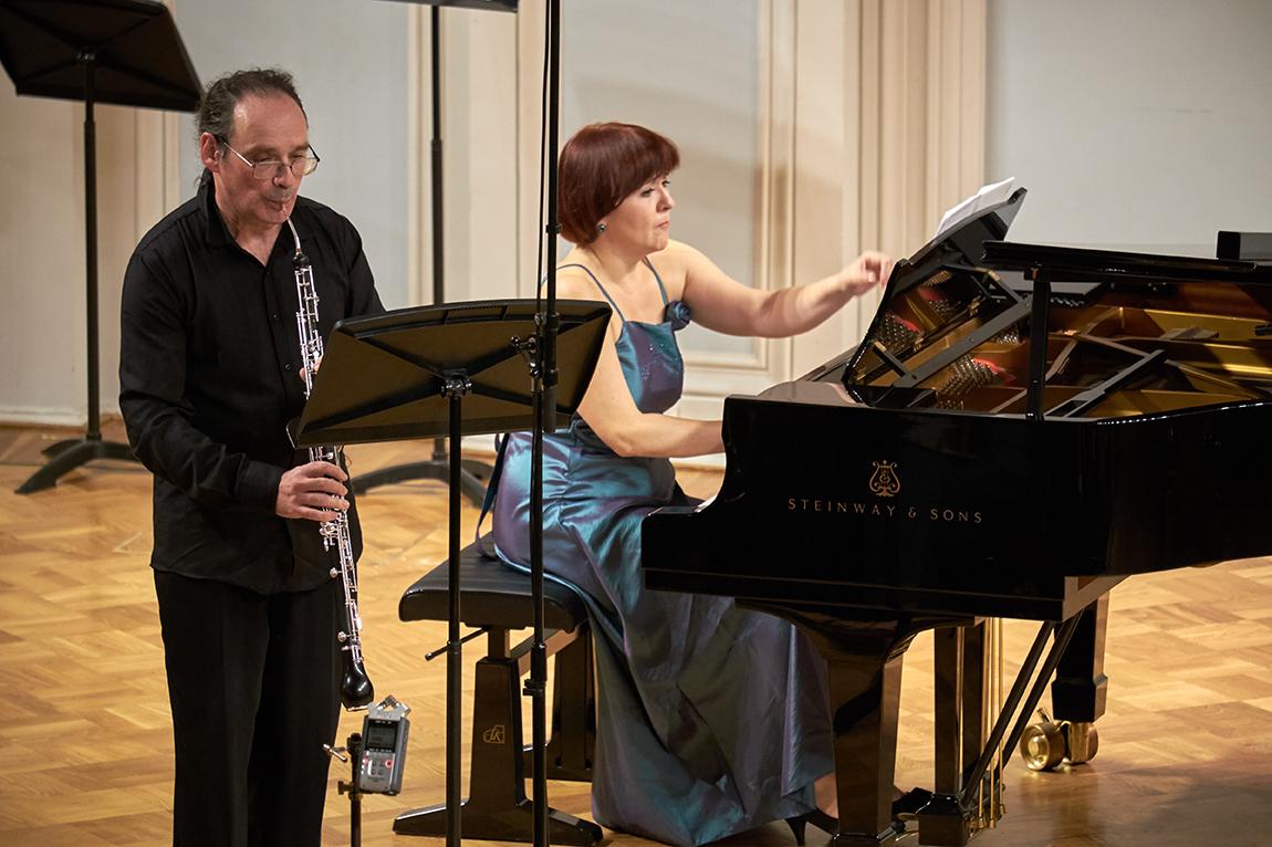 Владимир Зисман и Александра Полякова. Фото - Евгений Корнев