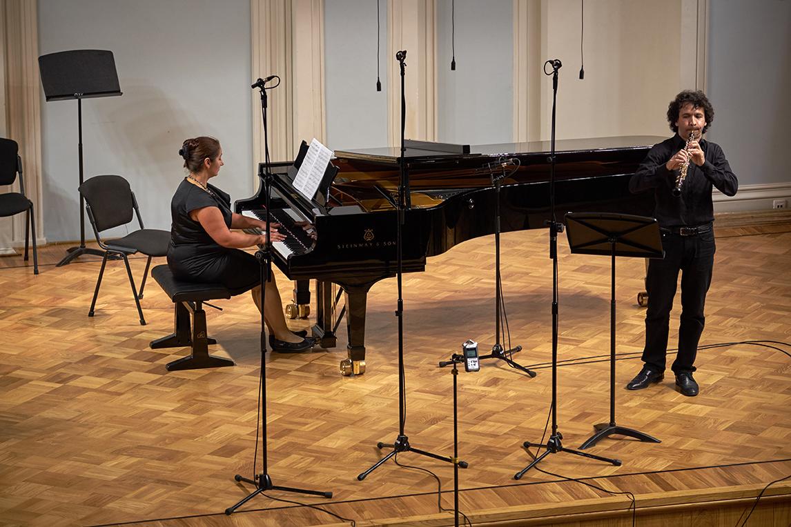 Михаил Штанько и Мария Джемесюк. Фото - Евгений Корнев