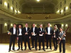 Группа духовиков из оркестра Concertgebouw